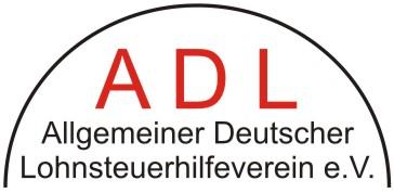 ADL Allgemeiner Deutscher Lohnsteuerhilfeverein eV Logo
