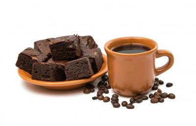 Bei uns gibt es sehr guten Kaffee und häufig Brownies :-)