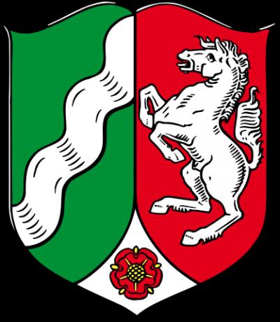 ADL Allgemeiner Deutscher Lohnsteuerhilfeverein - Flagge - NRW - Nordrhein-Westfalen